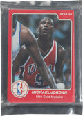 Basketball Cards:Sets, 1984-85 Star Olympic & NBA Special Basketball Factory Sealed Set - With Two Jordan Cards. ...
