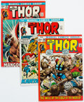 Bronze Age (1970-1979):Superhero, Thor #195-198 Group (Marvel, 1972).... (Total: 4 )