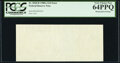 Missing Back Printing Error Fr. 2028-B $10 1988A Federal Reserve Note. PCGS Very Choice New 64PPQ