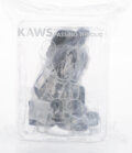Collectible, KAWS (b. 1974). Passing Through (Black), 2018. Painted cast vinyl. 8 x 6 x 6 inches (20.3 x 15.2 x 15.2 cm). Stamped to ...