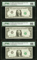 Fr. 1902-B $1 1963B Federal Reserve Notes. Five Examples PMG Gem Uncirculated 66 EPQ; Fr. 1908-C $1 1974 Federal Reserve...