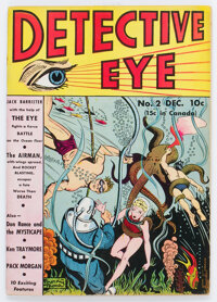 Detective Eye #2 (Centaur, 1940) Condition: Apparent FN+