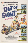 "Movie Posters:Rock and Roll, Out of Sight (Universal, 1966). Folded, Fine. One Sheet (27"" X 41"") & Photos (6) (8"" X 10"") Joseph Smith Artwork. Rock and R... (Total: 7 Items)"