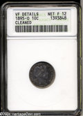 Barber Dimes: , 1895-O 10C --Cleaned--ANACS. VF Details, Net Fine12. The ...