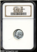 Proof Roosevelt Dimes: , 1951 10C PR68 W Cameo NGC. Despite the W (for white) ...