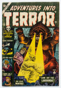 Golden Age (1938-1955):Horror, Adventures Into Terror #20 (Atlas, 1953) Condition: GD....