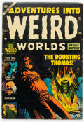 Golden Age (1938-1955):Horror, Adventures Into Weird Worlds #20 (Atlas, 1953) Condition: GD+....