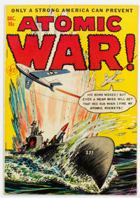Atomic War! #2 (Ace, 1952) Condition: FN+