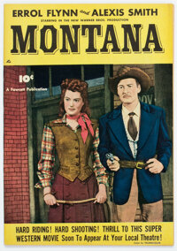 Fawcett Movie Comic #nn Montana (Fawcett Publications, 1950) Condition: VF