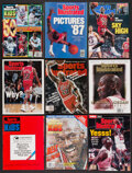 """Basketball Collectibles:Publications, 1987-99 Michael Jordan """"Sports Illustrated Lot of 9...."""