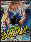 Basketball Cards:Unopened Packs/Display Boxes, 1989 Fleer Basketball Wax Box With 36 Unopened Packs. ...