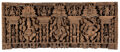 Carvings, An Indian Carved Wood Ganesha Relief. 32 x 76 inches (81.3 x 193.0 cm). Property from the Estate of Stuart Cutshall, Dal...