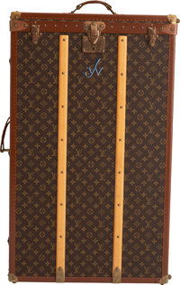 "Louis Vuitton Monogram Coated Canvas Wardrobe Steamer Trunk Condition: 3 22"" Width x 36"" Height x"