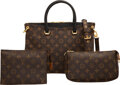 Luxury Accessories:Bags, Louis Vuitton Set of Three: Pallas Bag and Pouches. Condition: 3 . See Extended Condition Report for Sizes.. ... (Total: 3 Items)