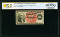 Fractional Currency:Fourth Issue, Fr. 1302 25¢ Fourth Issue PCGS Choice AU 58 PPQ.. ...