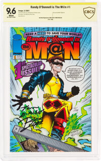 Randy O'Donnell is The M@n #1 Signed by Ron Lim and Tom DeFalco (Image, 2001) CBCS NM+ 9.6 White pages