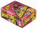 Basketball Cards:Unopened Packs/Display Boxes, 1981 Topps Basketball Wax Box With 36 Unopened Packs....