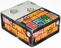 Baseball Cards:Unopened Packs/Display Boxes, 1984 Topps Baseball 24-Count Rack Pack Box - Mattingly & Strawberry Rookie Year! ...