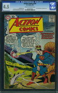 Silver Age (1956-1969):Superhero, Action Comics #244 (DC, 1958) CGC VG+ 4.5 Cream to off-white pages.