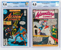 Silver Age (1956-1969):Superhero, Adventure Comics #269/Action Comics #521 CGC-Graded Group (DC, 1960-81).... (Total: 2 Comic Books)