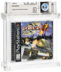 S.C.A.R.S. - Wata 9.6 A+ Sealed [Sony Security Label], PS1 Ubisoft 1998 USA