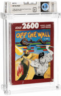 Video Games:Atari, Off the Wall - Wata 8.0 A+ Sealed [1989 Red box], 2600 Atari 1989 USA....