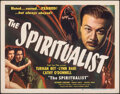 """Movie Posters:Fantasy, The Spiritualist (Eagle Lion, 1948). Rolled, Very Fine-. Half Sheet (22"""" X 28""""). Fantasy.. ..."""