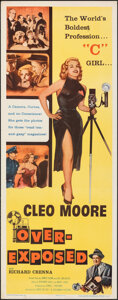"Movie Posters:Bad Girl, Over-Exposed (Columbia, 1956). Rolled, Very Fine-. Insert (14"" X 36""). Bad Girl.. ..."