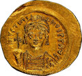 Ancients:Byzantine, Justinian I (AD 527-565). AV Solidus...