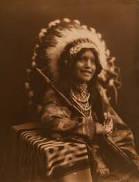 William Jefferson Carpenter (Canadian, 1861-1925) Group of 6 Photographs of Native Americans, circa 191