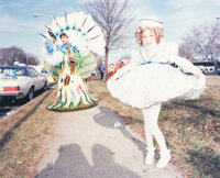 David Graham (American, b. 1952) Shirley Temple, Mummers Parade, Philadelphia, 1983 Dye coupler 10-1/2 x 13 inches (2