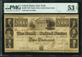 Obsoletes By State:Pennsylvania, Philadelphia, PA- Bank of the United States (PA Charter), Payable in New York $2000 Post Note Dec. 15, 1840 PMG About Unc...
