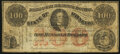 St. Louis, MO- A.B. Mayer Advertising Note $100 ND (ca. 1870s) Very Good
