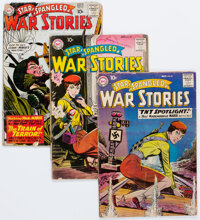 Star Spangled War Stories #85-88 and 91 Group (DC, 1959-60) Condition: Average FR.... (Total: 5 Comic Books)