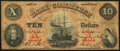 Obsoletes By State:Pennsylvania, Erie, PA- Bank of Commerce $10 May 5, 1860 G4b Very Good-Fine.. ...