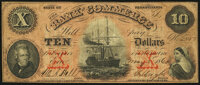 Erie, PA- Bank of Commerce $10 May 5, 1860 G4b Very Good-Fine