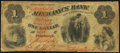 Obsoletes By State:Pennsylvania, Pittsburgh, PA- Mechanics' Bank of Pittsburgh $1 May 1,1861 Hoober 312-90 Very Good-Fine.. ...