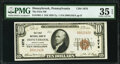 National Bank Notes:Pennsylvania, Honeybrook, PA - $10 1929 Ty. 1 The First National Bank Ch. # 1676 PMG Choice Very Fine 35 EPQ.. ...