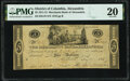 Obsoletes By State:District of Columbia, Alexandria, DC- Merchants Bank of Alexandria $5 May 27, 1815 G18 PMG Very Fine 20.. ...