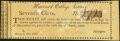 Seventh Class Lottery Ticket - Boston, MA - Harvard College Lottery Feb. 1812 Crisp Uncirculated