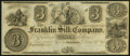Franklin, OH- Franklin Silk Company $3 18__ Remainder Choice About Uncirculated