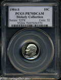 Proof Roosevelt Dimes: , 1984-S 10C PR70 Deep Cameo PCGS. A perfect proof and one ...