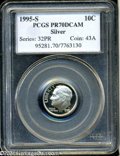 Proof Roosevelt Dimes: , 1995-S 10C Silver PR70 Deep Cameo PCGS. An exquisite and ...