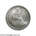 Seated Quarters: , 1891 25C MS67 NGC. Larry Briggs, Liberty Seated quarter ...