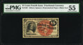 Fractional Currency:Fourth Issue, Fr. 1267 15¢ Fourth Issue PMG About Uncirculated 55.. ...
