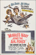 """Movie Posters:Comedy, McHale's Navy Joins the Air Force (Universal, 1965). Folded, Very Fine-. One Sheet (27"""" X 41""""). Comedy.. ..."""
