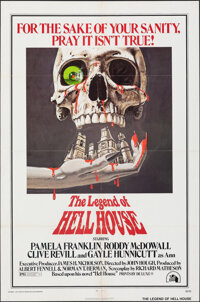 "The Legend of Hell House & Other Lot (20th Century Fox, 1973). Folded, Fine. One Sheets (2) (27"" X 41"") Ro..."