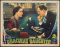 """Movie Posters:Horror, Dracula's Daughter (Universal, 1936). Fine. Lobby Card (11"""" X 14""""). Horror.. ..."""