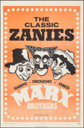 """Movie Posters:Comedy, Marx Brothers: The Classic Zanies (MGM, 1971). Folded, Very Fine+. One Sheet (27"""" X 41""""). Comedy.. ..."""