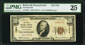 National Bank Notes:Pennsylvania, Bellwood, PA - $10 1929 Ty. 1 The First National Bank Ch. # 7356 PMG Very Fine 25.. ...